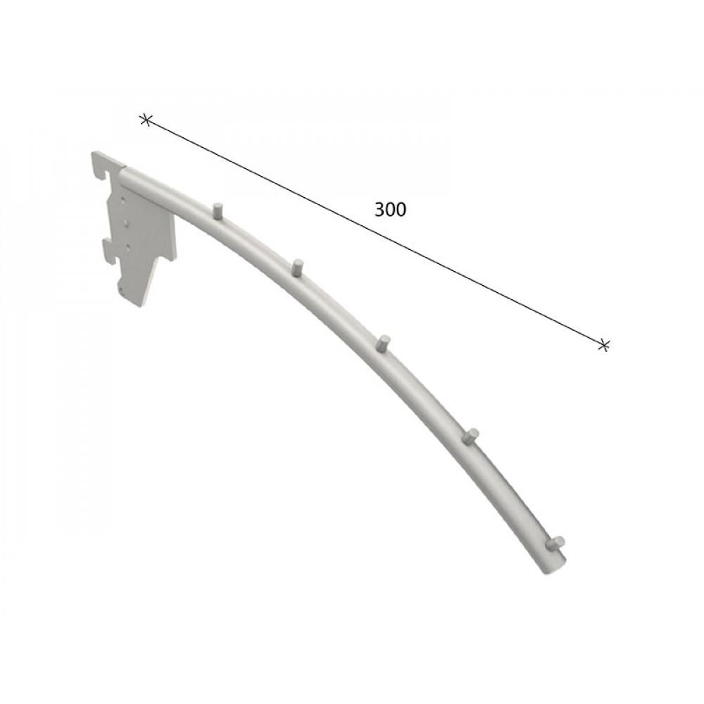 SL-H009 Кронштейн наклонный 280мм (труба dm12 mm)