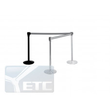 AE-1900 Столбик для ограждения с вытяжной лентой длиной 1900мм