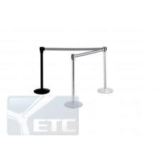 AE -1900 Стовпчик для огорожі з витяжною стрічкою довжиною 1900мм