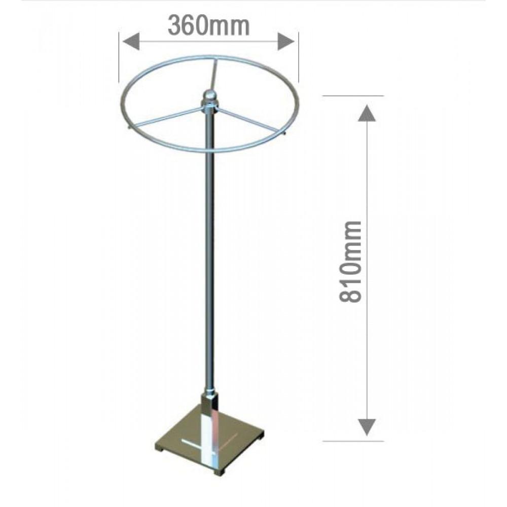 St 1040 Вешалка настольная круглая с регулировкой высоты