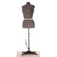 FD151 Манекен жіночий пошивочно-виставковий (50-58р-р) сірий
