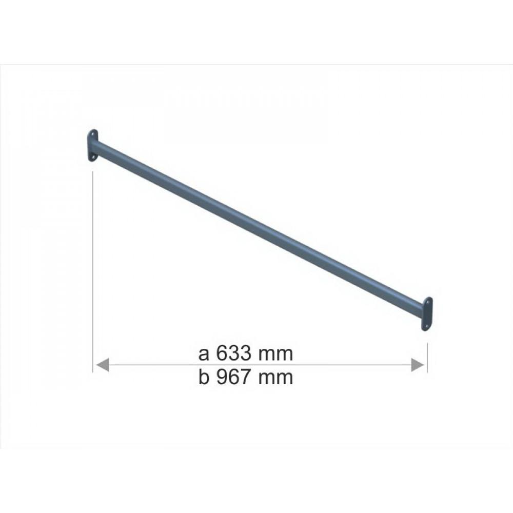 1043a Стяжка для стійки S1042 (633mm) непофарбована.