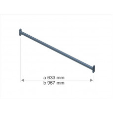 1043a Стяжка для стойки S1042 (633mm) неокраш.