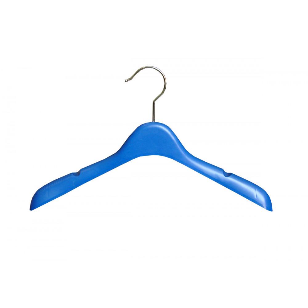 W-36 Плечики для одежды пластиковые 36см (СИНИЕ)