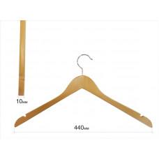 Вішаки для одягу без поперечини бук 01ВL