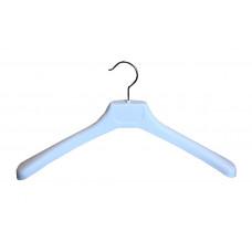 Вішаки для одягу пластикові білі 450мм W-45
