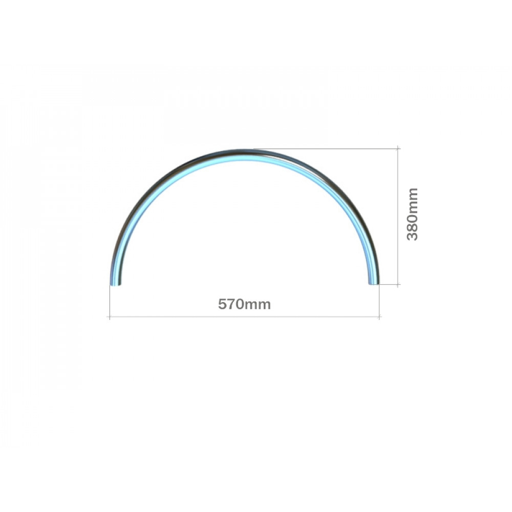 3028 Декоративный элемент 1/2 круга
