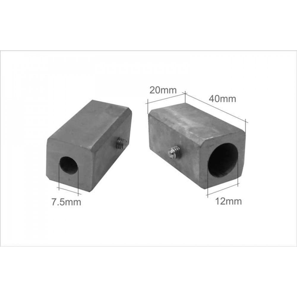 Pr72 (К) Элемент крепления к стене 25*25