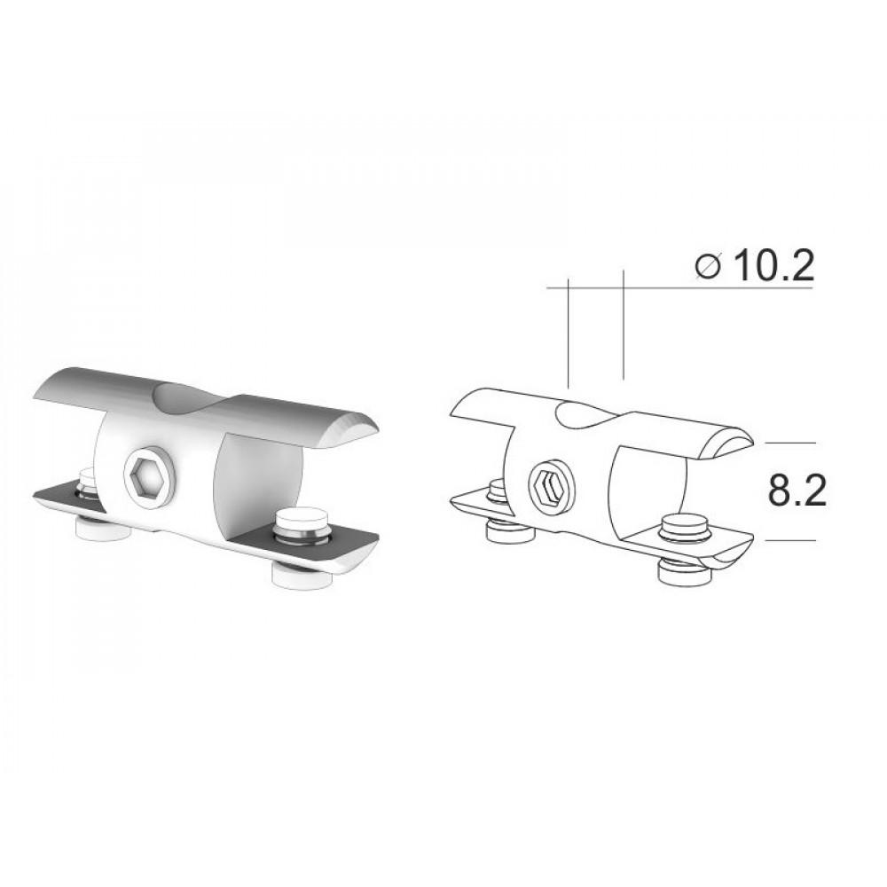 SHD-10 Полкодержатель двухсторонний