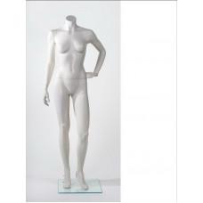 Манекен жіночий без голови MM-BG14 (RAL 9001)