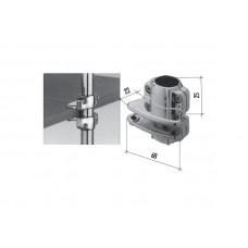 J80 (К) Крепление для трубы с ДСП одностороннее