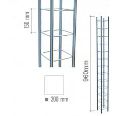 4005 Модуль объемный квадратный 960мм