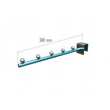 VR-7F2-13 Крючок прямой с шарами 300мм.