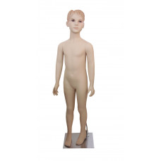 Манекен дитячий тілесний реалістичний (хлопчик 124 см), AF-11