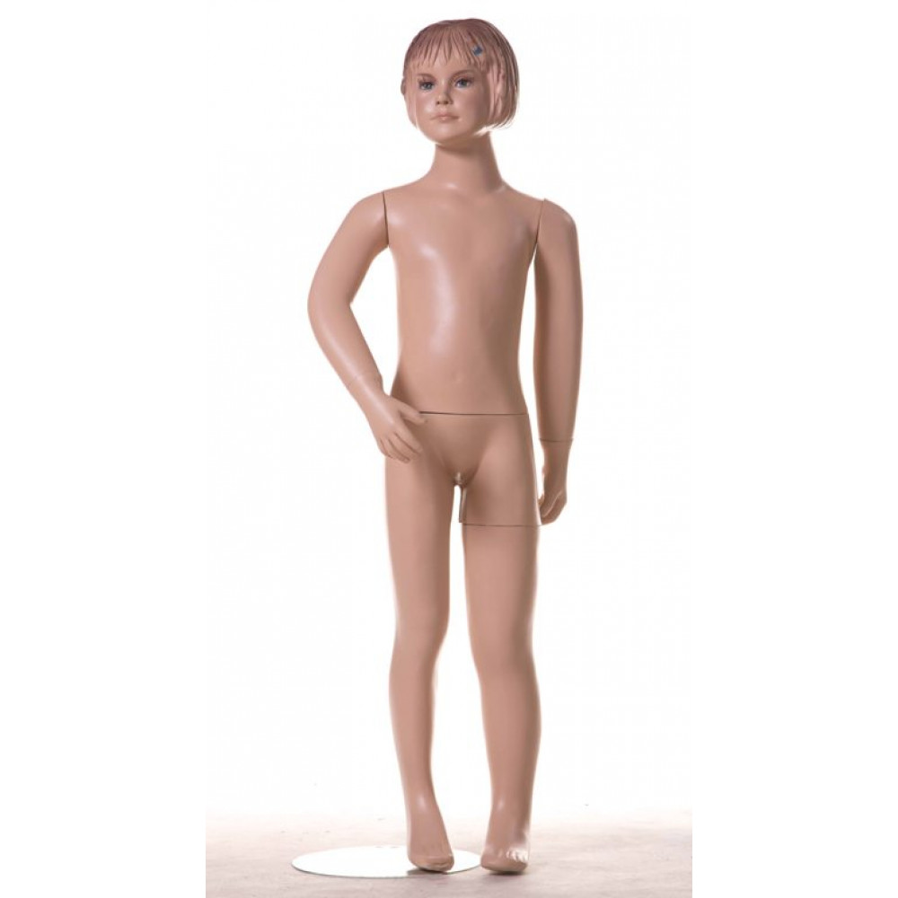 KIM-3 Манекен детский, девочка, телесный