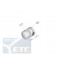 IN1-07/16  Односторонний захват  панели с насадками (d 16мм/М 5мм)