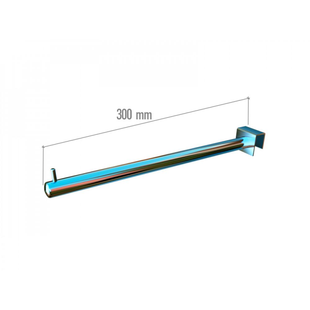 VR-7F2-03 Навесной элемент прямой 300мм. хром.