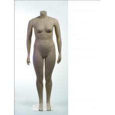 WMA 54 Манекен жіночий тілесний без голови (54 р-р) (квадр. База, подвійна фікс.)