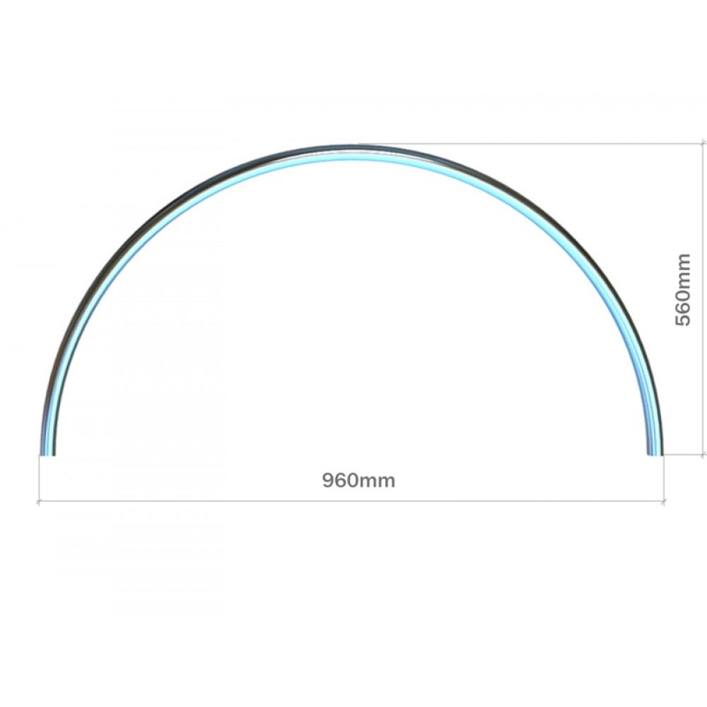 3029 Декоративный элемент 1/2 круга