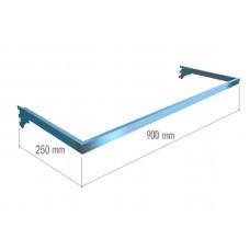 VR 6049а (K) Рамка тип U (900*250) хром.