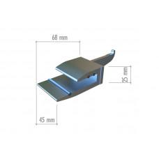MX07 Полкодержатель для стеклянной полки