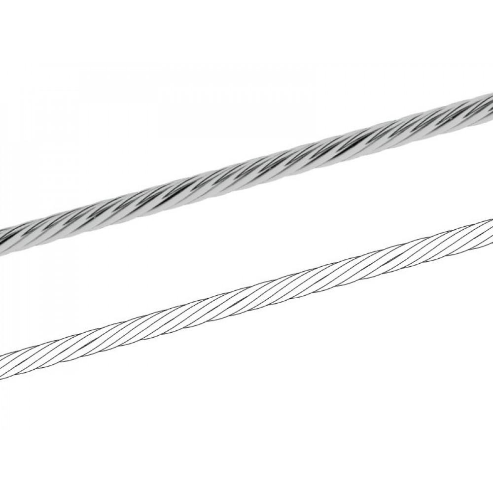 Трос хромированный 3,0мм
