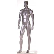 СМ-28М Манекен чоловічий безликий сріблястий