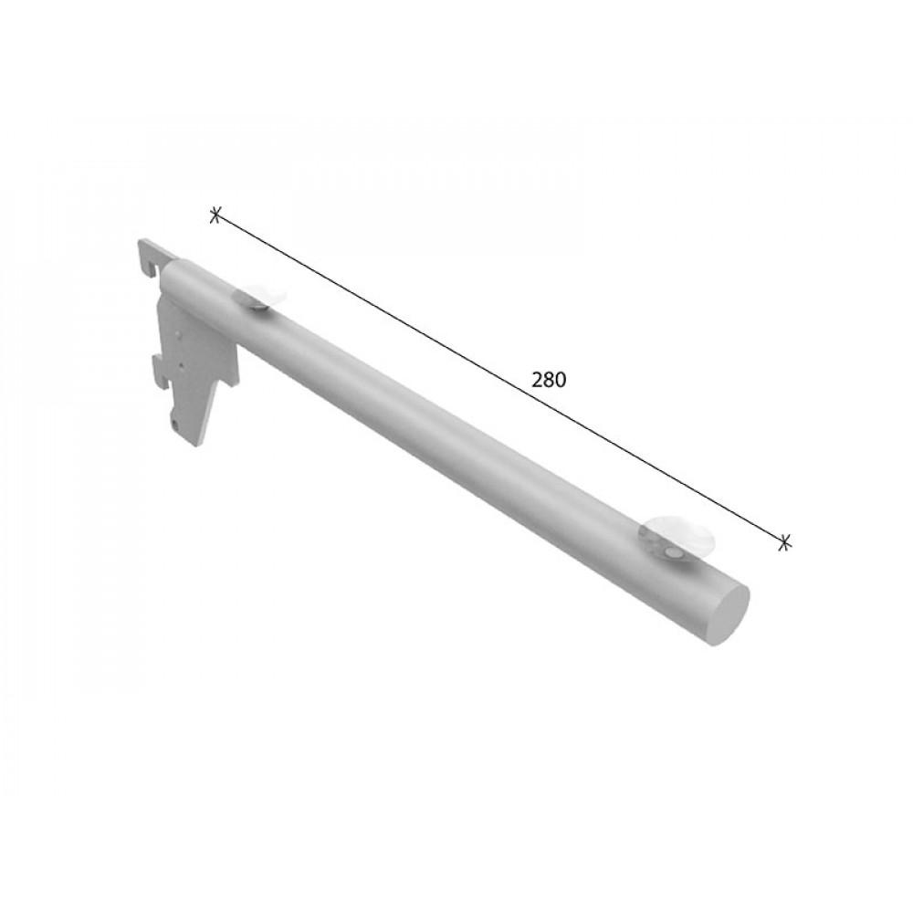 SL-A016 Кронштейн для стекла 280мм труба dm19