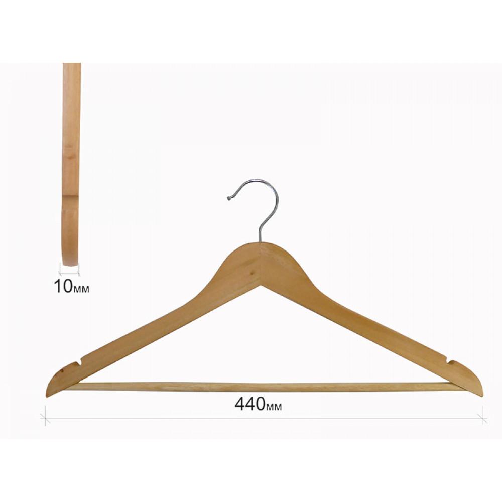 Плечики для одежды type 1АА (бук)
