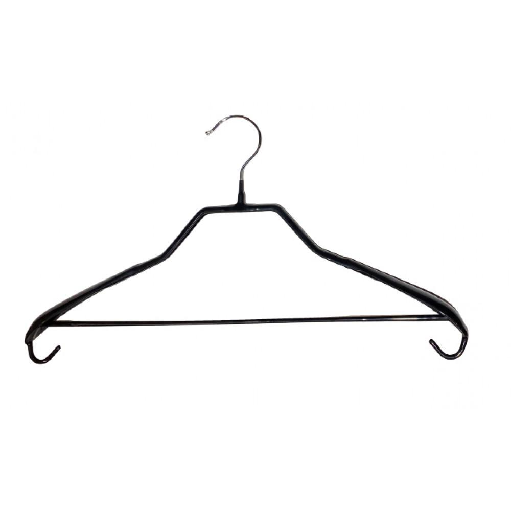 Плічкі для одягу металеві чорні Type 6А ХА