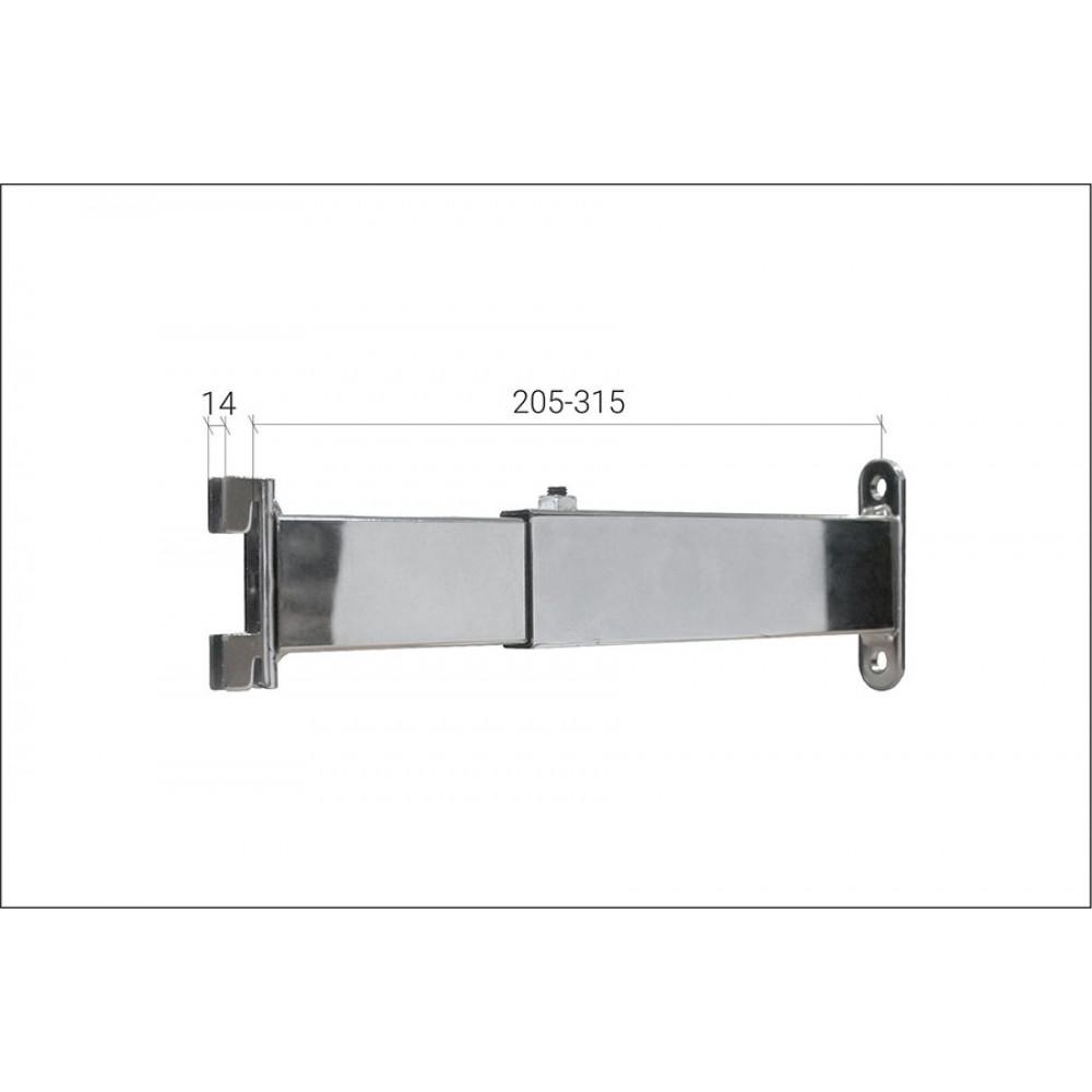 5043с(2115) Крепление профиля к стене 205-315мм
