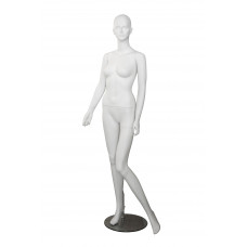 Манекен жіночий білий без макияжу, LENA-1w
