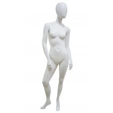 Манекен жіночий бзликий білий матовий JL-ALF-W