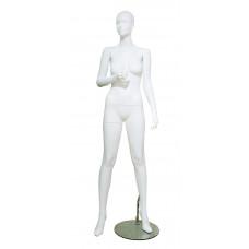 Манекен жіночий білий без макіяжу, LENA-22w